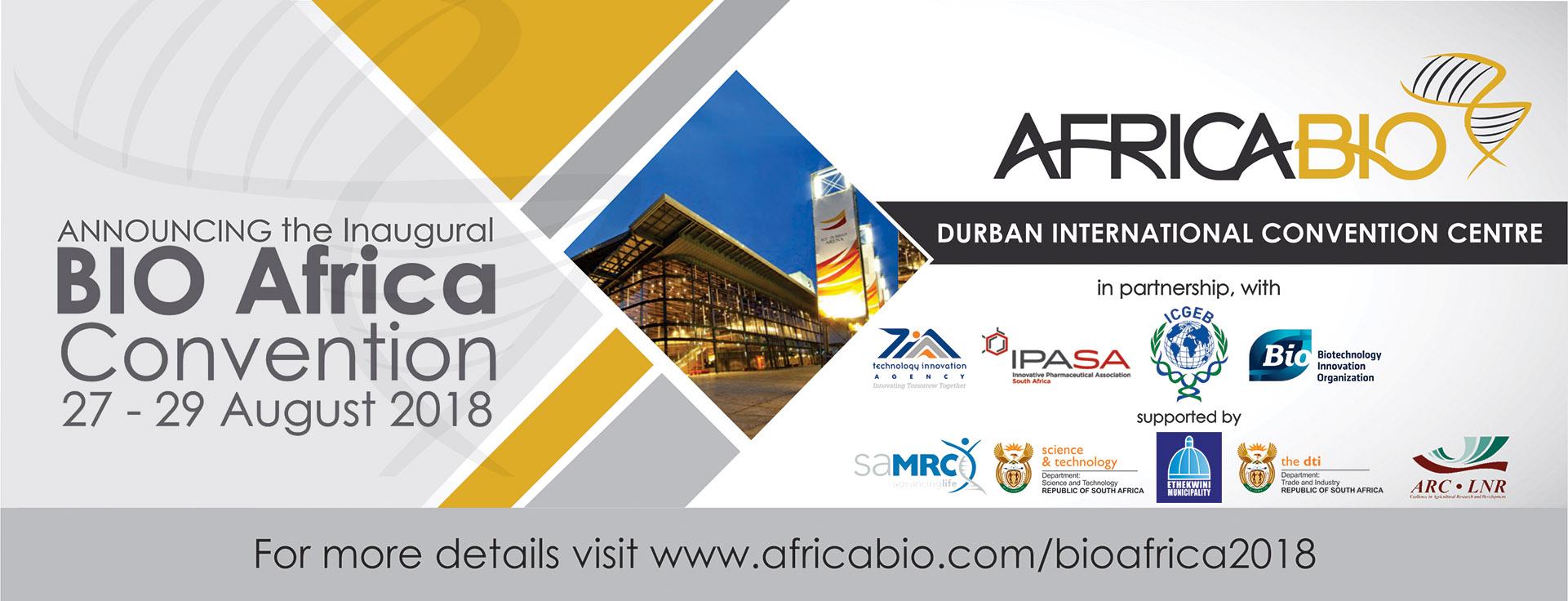 BIO Africa Convention banner